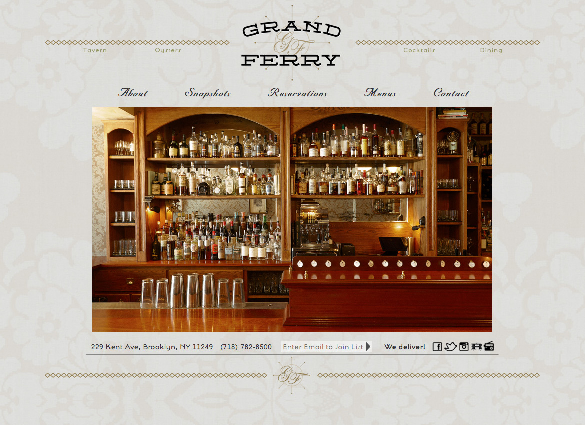Grand Ferry Website